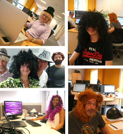 Hat and Wig day